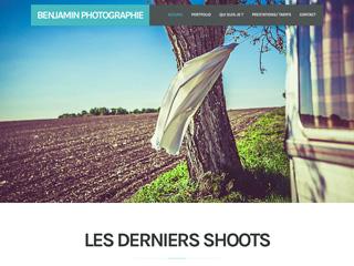 Yellow Pix Road, studio de création graphique Paris : Projet Benjamin Photographie