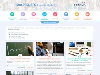 Yellow Pix Road, studio de création graphique Paris : Projet 1000 Projets