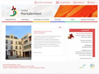 Yellow Pix Road, studio de création graphique Paris : Projet Institut Montalembert