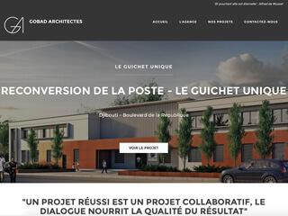 Yellow Pix Road, studio de création graphique Paris : Projet Gobad Architectes