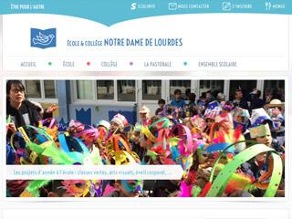 Yellow Pix Road, studio de création graphique Paris : Projet Notre-Dame de Lourdes
