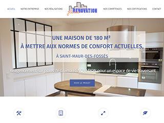 Yellow Pix Road, studio de création graphique Paris : Projet Guima RÉNOVATION
