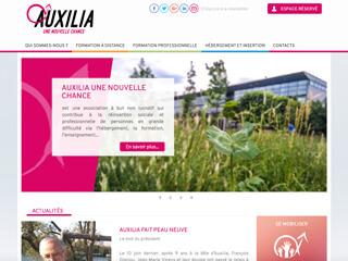Yellow Pix Road, studio de création graphique Paris : Projet Auxilia