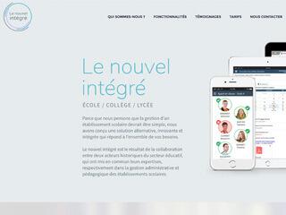 Yellow Pix Road, studio de création graphique Paris : Projet Le Nouvel Intégré