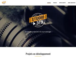 Yellow Pix Road, studio de création graphique Paris : Projet Studio 313 Films